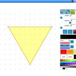 Interactive Polygon lesson,interior,exterior angles,regular,irregular