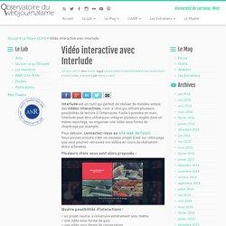 Vidéo interactive avec Interlude