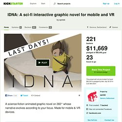 IDNA – interactive mobile series by apelab