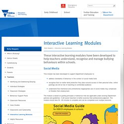 Bullyng - Interactive Learning Modules for teacher