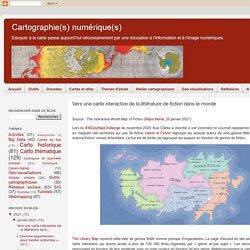 Vers une carte interactive de la littérature de fiction dans le monde