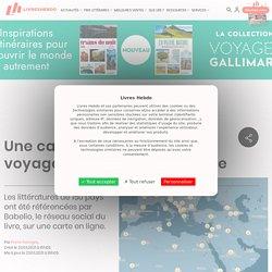 Une carte interactive pour voyager grâce à la littérature