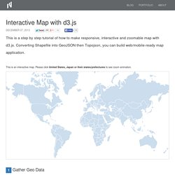 Interactive Map with d3.js - TNODA