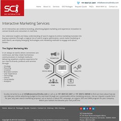 Interactive marketing services India - SCI Interactive