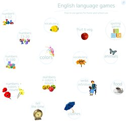 English language learning games