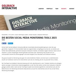 Goldbach Interactive – Insights: News, Medienmitteilungen, Fachartikel, Awards, Events