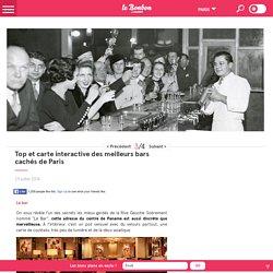 Top et carte interactive des meilleurs bars cachés de Paris