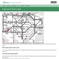 Interactive Metro Map