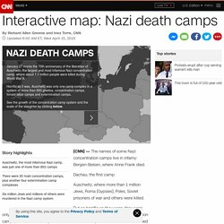 Interactive map: Nazi death camps