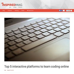 Top 5 interactive platforms to learn coding online