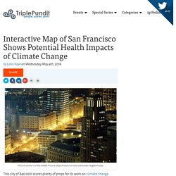 Interactive Map Shows Potential Health Impacts of Climate Change