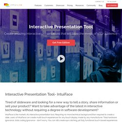 Interactive Presentation Tool by IntuiLab