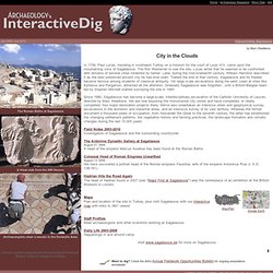 Interactive Dig Sagalassos - City in the Clouds
