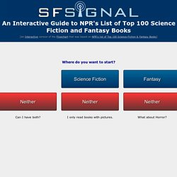 An Interactive Guide to NPRs List of Top 100 Science Fiction and Fantasy Books