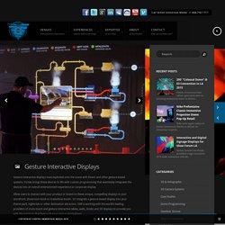 Gesture Interactive, Interactive Bar, Gesture Cube, Gesture Surfaces - Vortex Immersion Media