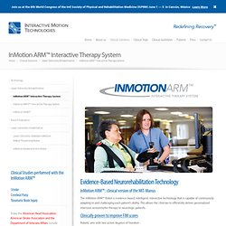 InMotion ARM™ Interactive Therapy System