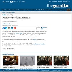 Princess Bride interactive | Games | Guardian Unlimited