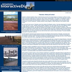 Interactive Dig Tiwanaku - History and Context