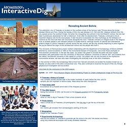 Interactive Dig Tiwanaku - Revealing Ancient Bolivia