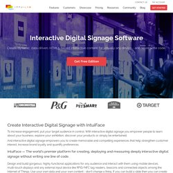 Digital Signage Software by IntuiLab
