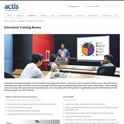 Actis Technologies Training Rooms