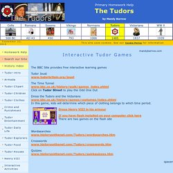 Interactive Tudor Games