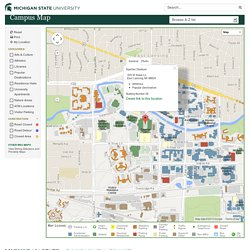 MSU: Interactive Campus Map