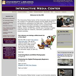 Interactive Media Center - University Library - University at Albany Home Page
