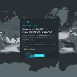 Sailing Seas of Plastic - Interactive Data Visualisation