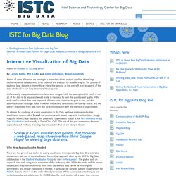 Intel Science & Technology Center for Big Data
