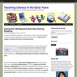 Interactive Whiteboard Activities During Reading | Teaching Literacy in the Early Years