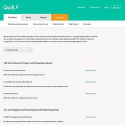 Quill.org — Interactive Writing and Grammar