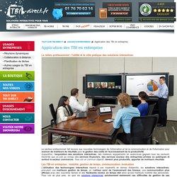 Les recours et usages des solutions interactives dans différentes professions