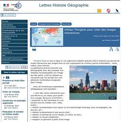 Utiliser Thinglink pour créer des images interactives - [Lettres Histoire Géographie]