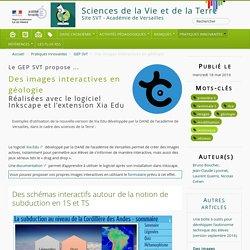 Des images interactives en géologie - Sciences de la Vie et de la Terre