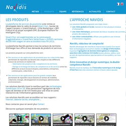 Navidis - Cartes interactives multimédias 2D et 3D
