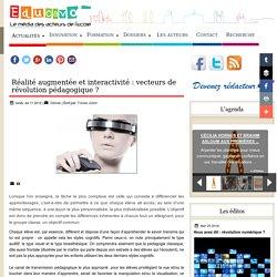 Réalité augmentée et interactivité : vecteurs de révolution pédagogique ?