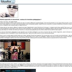 Réalité augmentée et interactivité: vecteurs de révolution pédagogique?