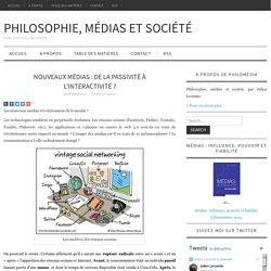 Nouveaux médias : de la passivité à l'interactivité ?