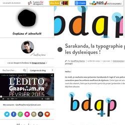la typographie pour les dyslexiques