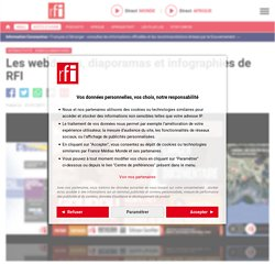 Les webdocus et applications interactives de RFI