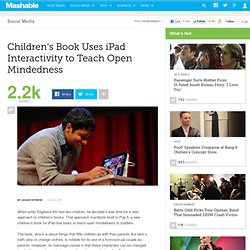 Children's Book Uses iPad Interactivity to Teach Open Mindedness