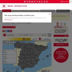 Mapa interactivo de España Provincias de España. Puzzle (IGN de España) - Mapas Interactivos de Didactalia