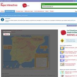 Mapa interactivo de España Relieve de España. ¿Cómo se llama? - Mapas Interactivos