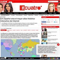 Un español crea el mayor atlas histórico interactivo de Internet - Noticias Tecnología