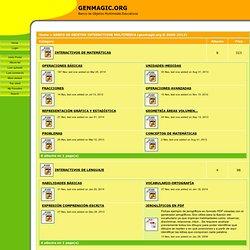 GENERADORES DE FICHAS PARA PDI y para imprimir - GENMAGIC