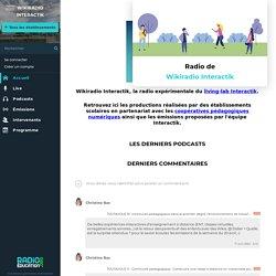 Wikiradio Interactik - Lien vers la page d'accueil