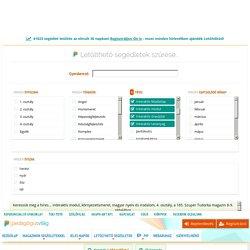 □1 - Interaktív feladatlap, interaktív modul, interaktív óravázlat, interaktív tananyag - ingyenesen letölthető oktatási segédletek a Pedagógusvilágon