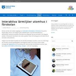 Interaktiva lärmiljöer utomhus i förskolan - Väsby Lärlabb