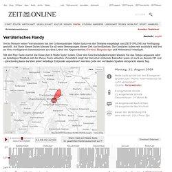Vorratsdatenspeicherung - interaktive Grafik